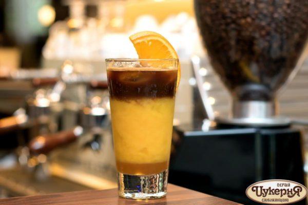 Коктейль Bumble на апельсином соке