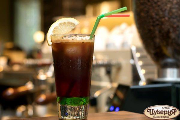 Коктейль кофейный с гранатовым соком