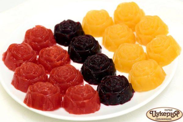 Мармелад из фруктов и агар-агар