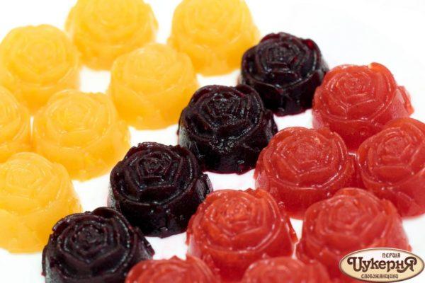 Натуральный мармелад из фруктов