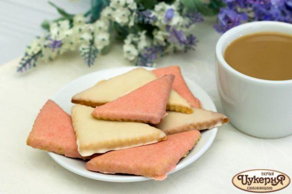 Цветное печенье Арлекино