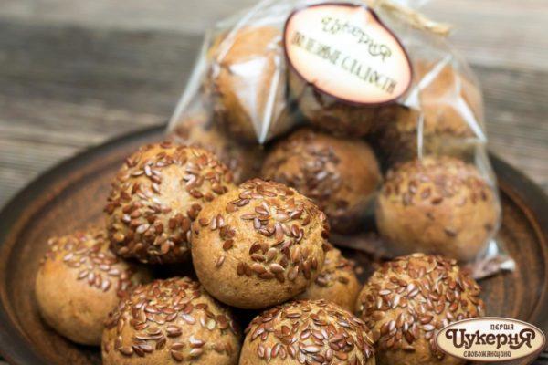 Хлебцы с сухофруктами и льном