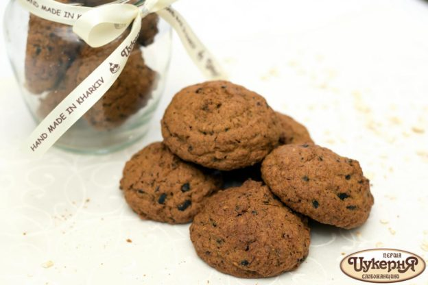 Печенье овсяное с черносливом