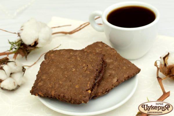 Печенье шоколадно-ореховое