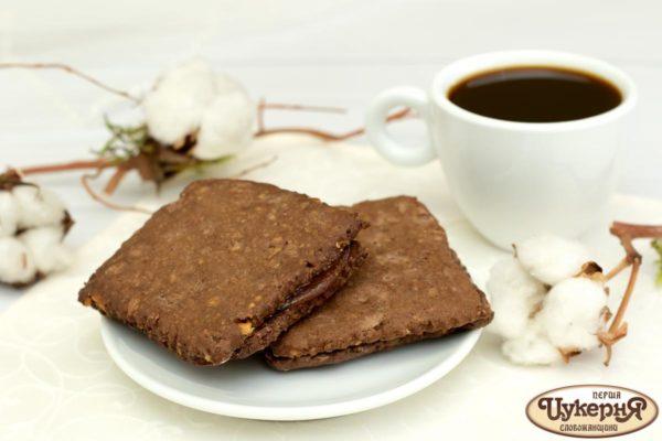 Печенье шоколадно-ореховое к чаю