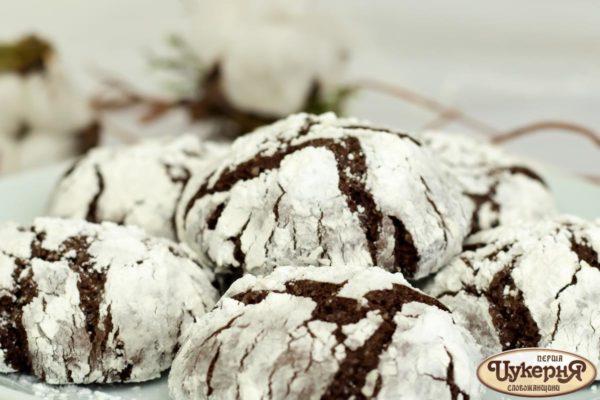 Трюфельное шоколадное печенье