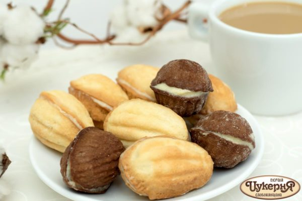 Орешки с кремом Шарлот