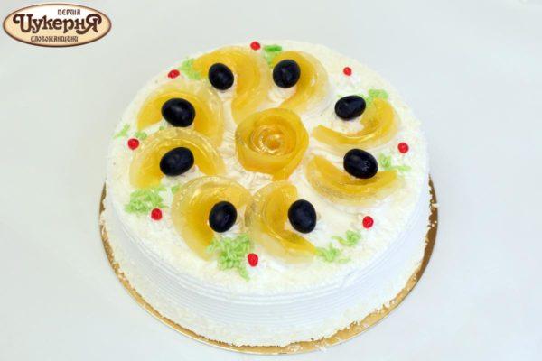 Торт Фруктовая фантазия - идеальный торт для свадеб