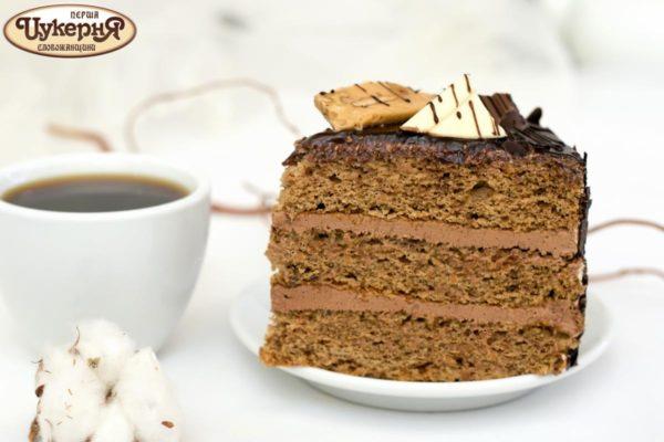 Торт кофейный с чаем
