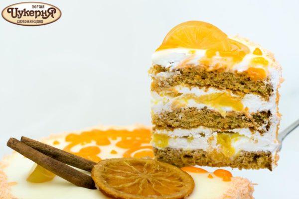 Кусочек торта оранж