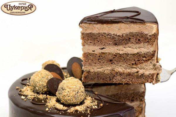 Кусочек торта Старая прага