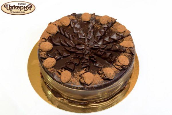 Торт шоколадный трюфельный