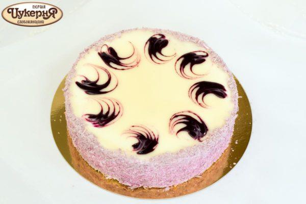 Творожно-смородиновый торт