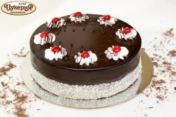 Торт Вишневый аромат
