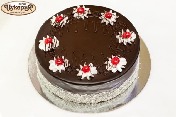 Украшение торта Вишневый аромат