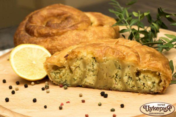 Сырный пирог тиропита